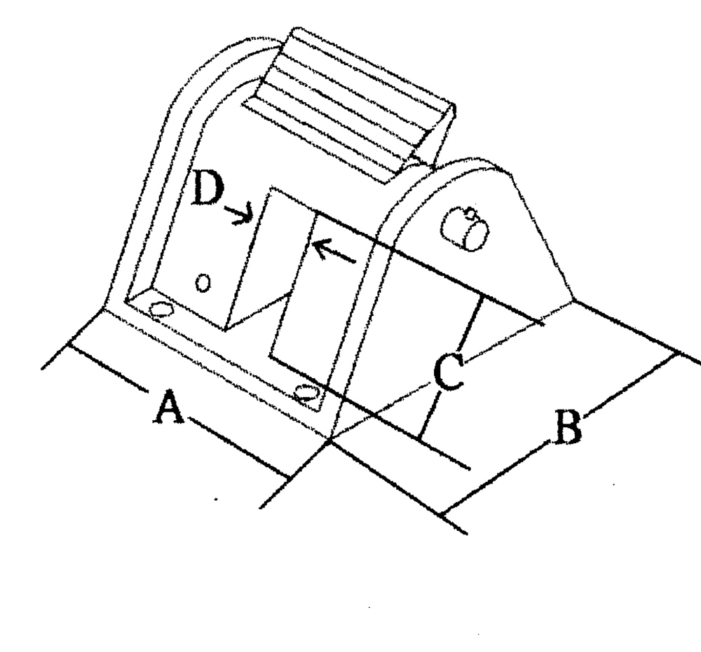BLOCCA CATENA INOX 316