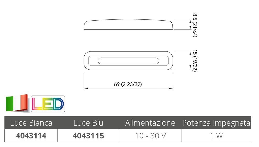 LUCE BIANCA DI CORTESIA TAB CPR 2