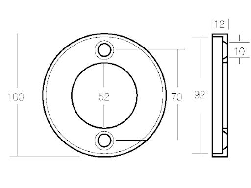 COLLARE PER PIEDE AQ 80-100-100B-100S