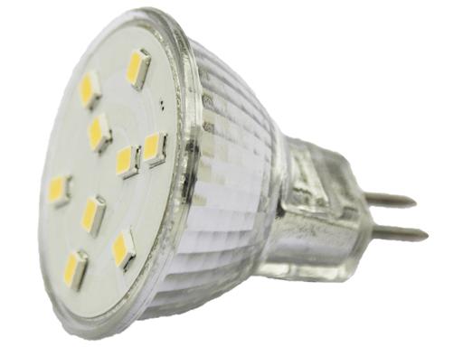 LAMPADINA DICROICA 9 LED GZ4