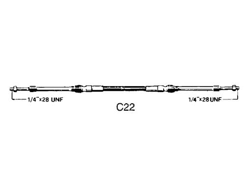 CAVI TELECOMANDO C22