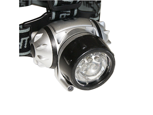 TORCIA  FRONTALE 10 LED