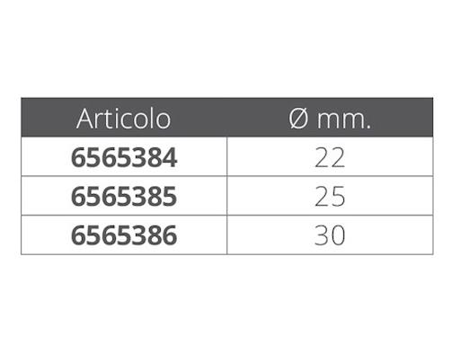 SNODI A FORCELLA APRIBILI IN ACCIAIO INOX