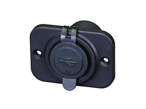 PANNELLO CON 2 PRESE USB 12 V