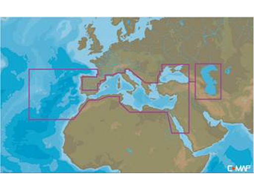 C-MAP MAX-N+ MEGAWIDE PER LOWRANCE, B&G, SIMRAD
