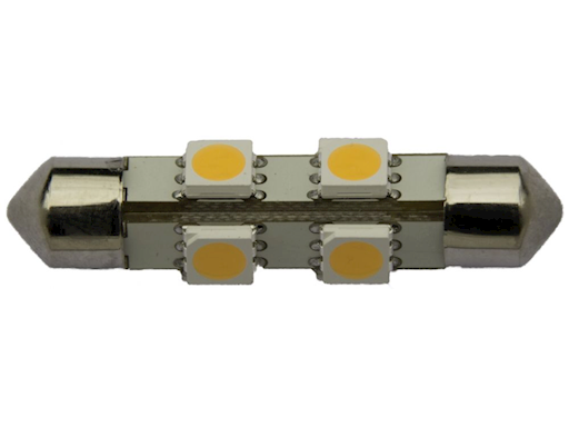 LAMPADINA A SILURO 8 LED SMD